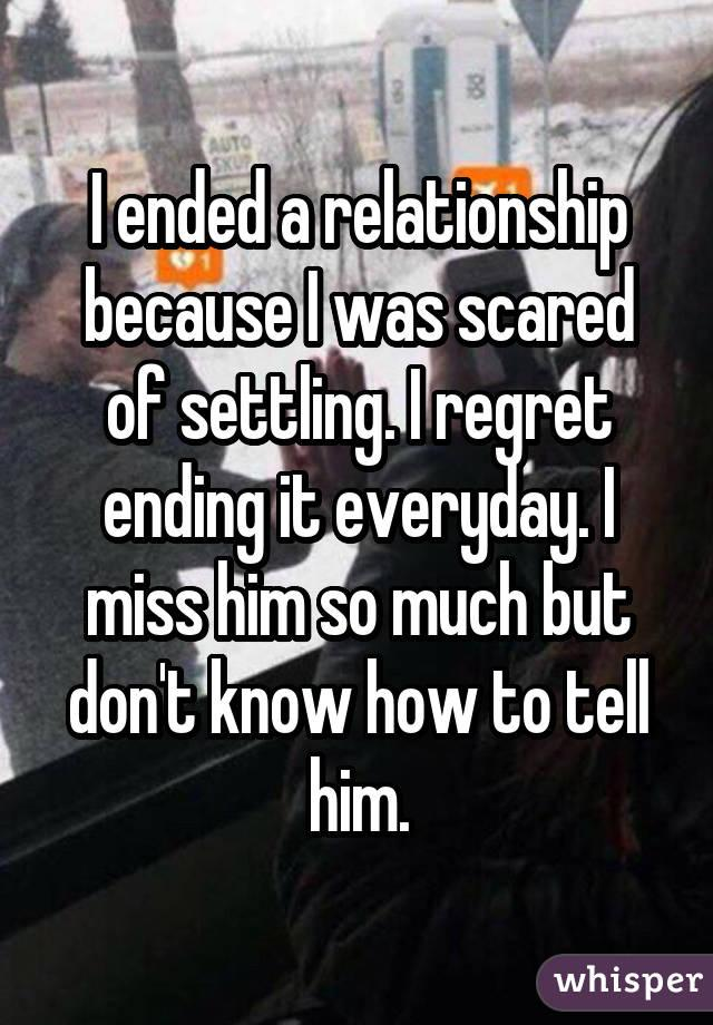 18 people confess why they regret their breakups
