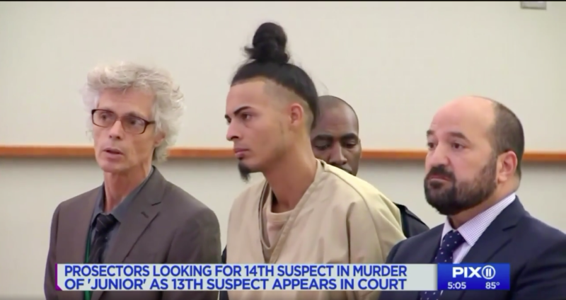 Ronald Urena pleaded not guilty on Aug. 27, 2018, to charges including murder, manslaughter, conspiracy and gang assault.
