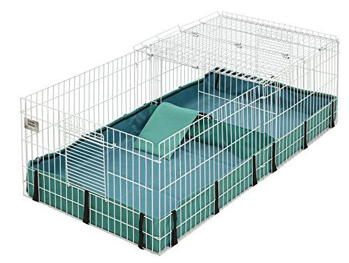 Guinea Habitat Plus Guinea Pig Cage by MidWest w/ Top Panel, 47L x 24W x 14H Inches (Amazon / Amazon)