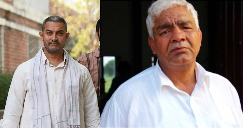 Aamir Khan plays former wrestler Mahavir Singh Phogat in the box office hit 'Dangal', who trains his daughters to win the Commonwealth Games. Did you know, after gaining 28 kgs. for the initial shoot, Aamir Khan lost 25 kgs. in 20 weeks to portray the younger character of Mahavir Singh Phogat.