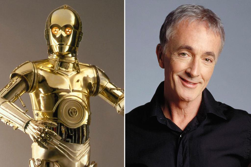 "Anthony Daniels – C-3PO<br><br>A longtime veteran of the stage, Anthony Daniels's mime skills caused Lucas to request a meeting to discuss C-3PO. Daniels declined, as sci-fi wasn't exactly his thing. With some encouragement from his agent, Daniels read ""The Adventures of Luke Starkiller."" After landing the role, he was covered in body plaster to form the shape of his costume--an ""extremely unlovely experience,"" recalled Daniels, who gave his performance without comment any direction from Lucas. In postproduction, Lucas tried to overdub Daniels's lines, but failed to find the right voice and finally asked Daniels to redub his own. Despite his difficulties working with Lucas and the studio's reluctance to reveal that there was actually a man inside the robot, Daniels signed on for the rest of the films--and remains a golden deity because of it."