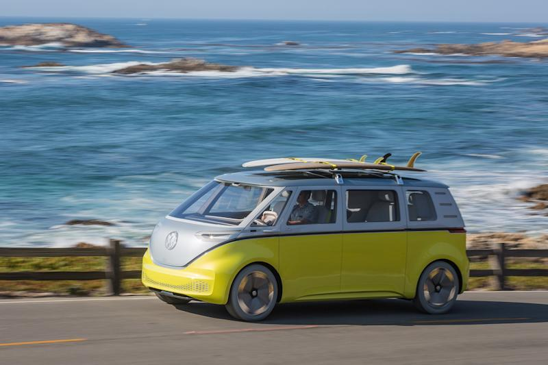 VW re-imagines the '60s Microbus with this new, all-electric van