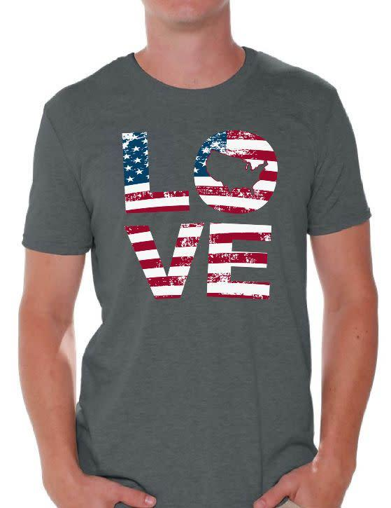 "Find this LOVE tee for $13 at <a href=""https://yhoo.it/2YGtvMY"" rel=""nofollow noopener"" target=""_blank"" data-ylk=""slk:Walmart"" class=""link rapid-noclick-resp"">Walmart</a>."