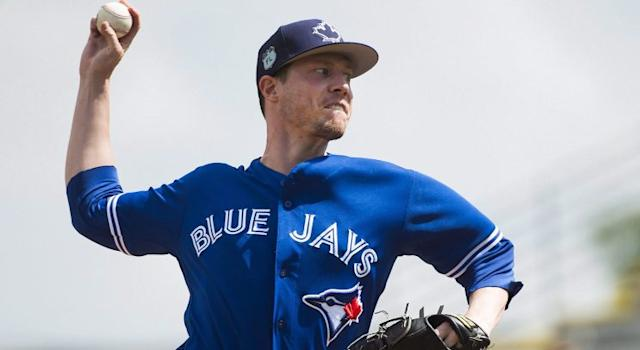 Lucas Harrell is the sort of starter the Toronto Blue Jays only want to use in case of emergency, but he could be called on. (Nathan Dennette/CP)