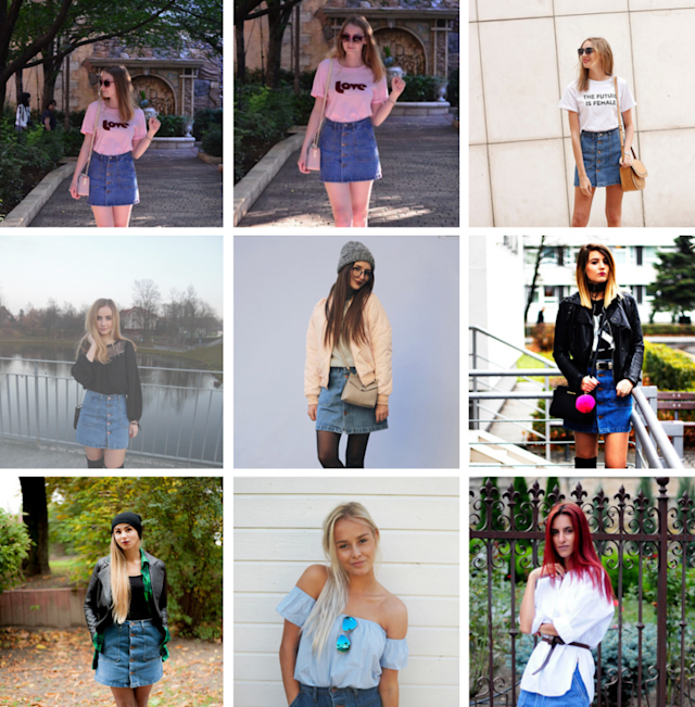 The SheIn Style Gallery, where customers get points if they upload a photo of themselves wearing a SheIn item.
