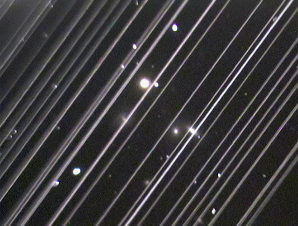 Starlink satellites currently in orbit have disrupted astronomical observationsical (Victoria Girgis/Lowell Observatory)
