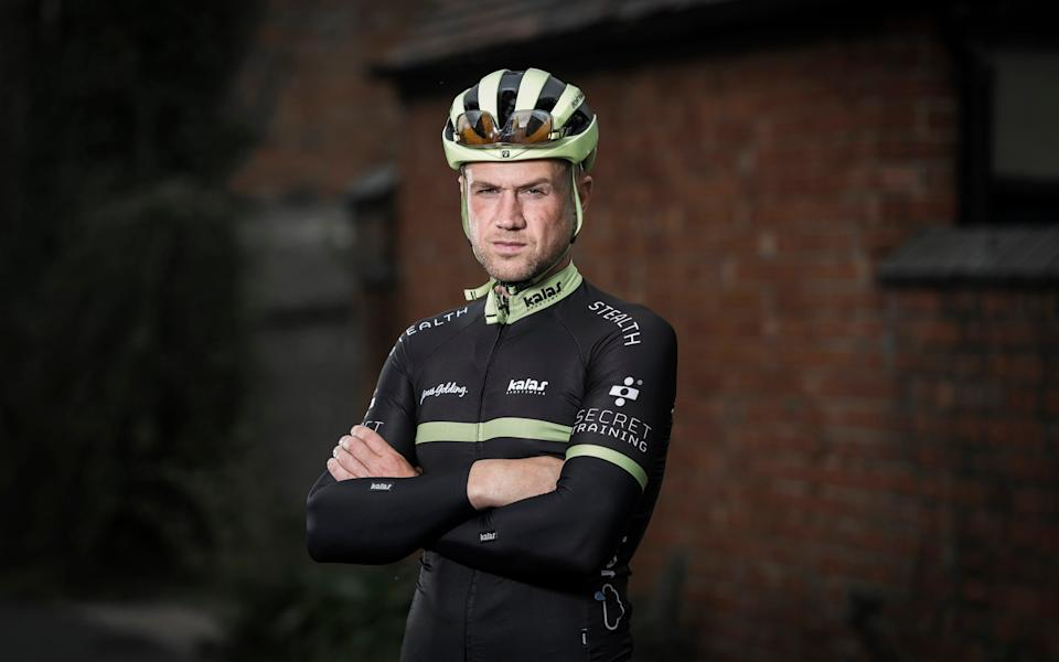 Golding says he feels like the luckiest man alive - PETER ALVEY PHOTOGRAPHER