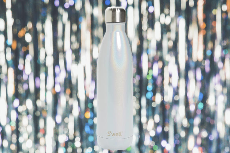 This shimmery insulated bottle is the life of the party. (Photo illustration: Yahoo Lifestyle; photo: Nordstrom)