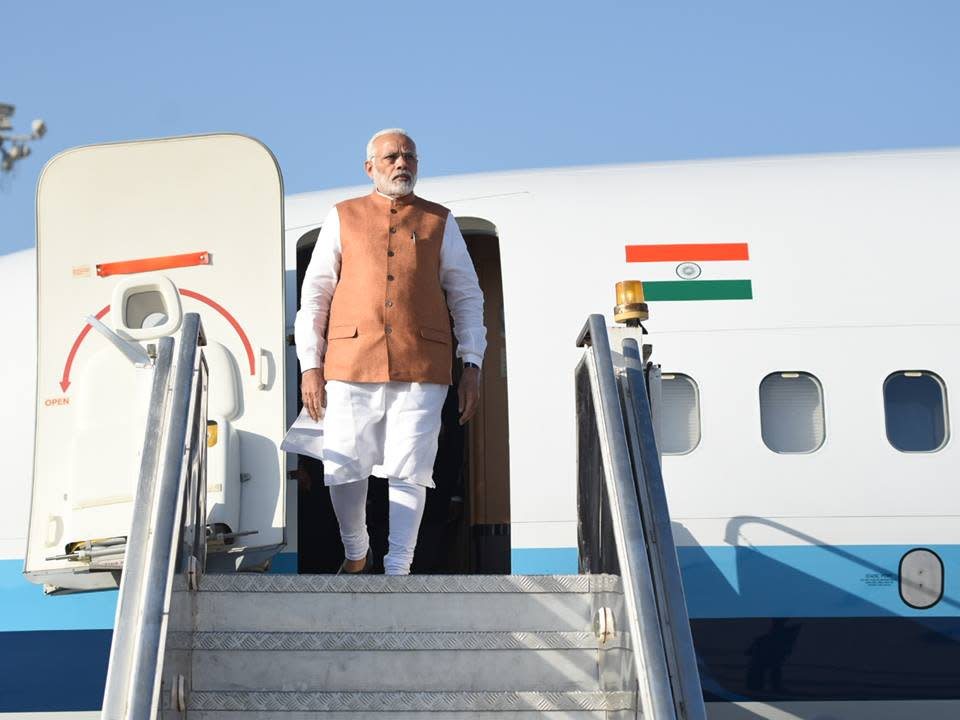 <p>Narendra Modi, the Prime Minister of our country is one of the most powerful people in India, and has been for the past few years. He brought about demonetisation, which was probably not liked by many, but was for the greater good. With this man, it doesn't just stop here. He is looking well into the future.<br> Interesting Fact: The PM is brand conscious and buys his clothes from Jade Blue, a company based in Ahmedabad. Image source: Social Media </p>