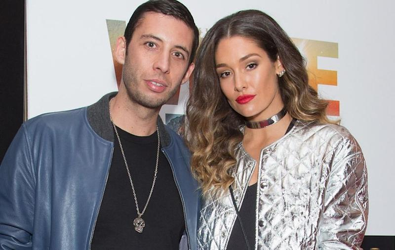 Aussie model Erin and Example have welcomed their second son together. Here the pair are pictured together last year. Source: Getty