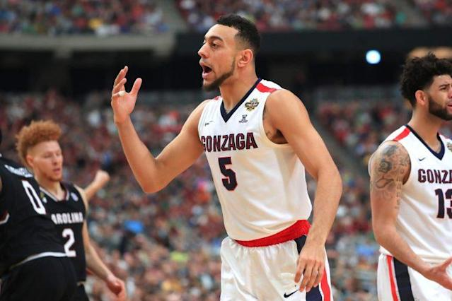 Nigel Williams-Goss led Gonzaga to within 40 minutes of a national title. (Getty)