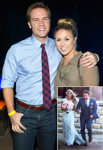 Scott Porter, Kelsey Mayfield | Photo Credits: Charley Gallay/Getty Images; Instagram
