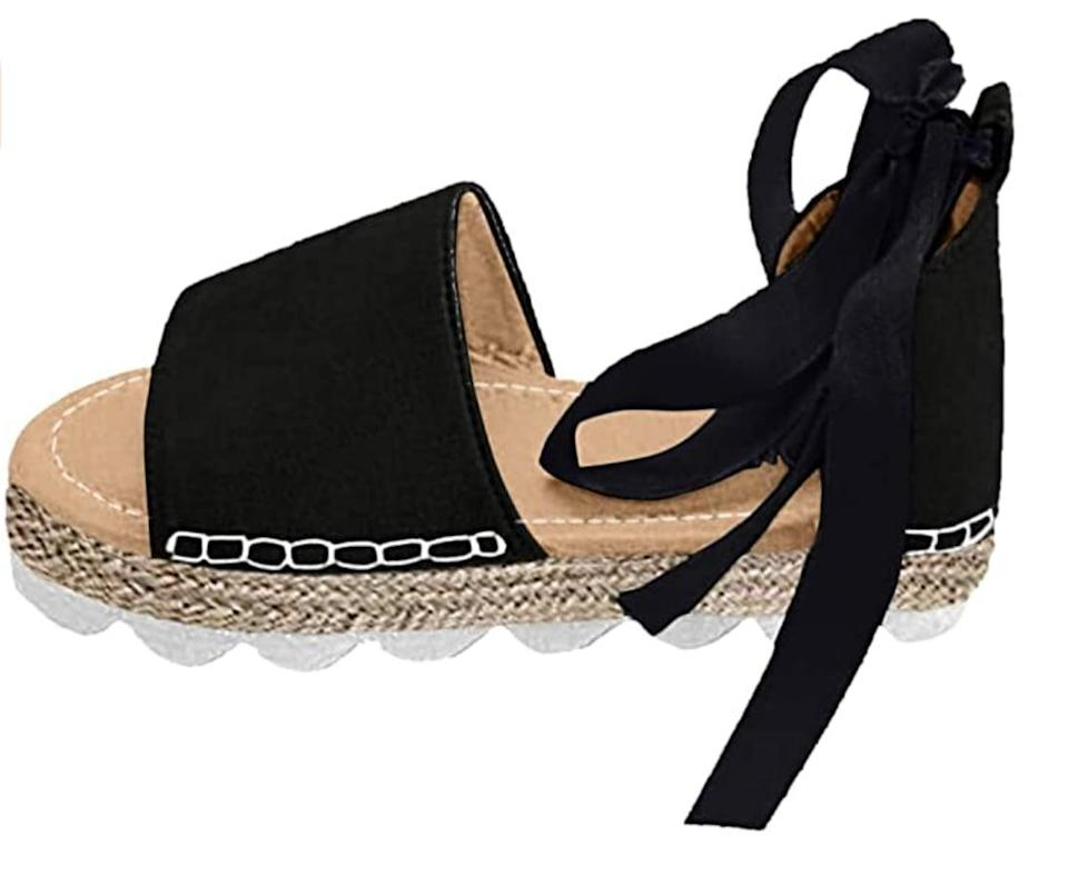 <p>Pair these chic <span> Maybest Flat Espadrilles </span> ($13-$23) with your favorite maxi dress for a casual chic look. </p>