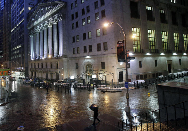 Sandy unlikely to damage US economy, analysts say