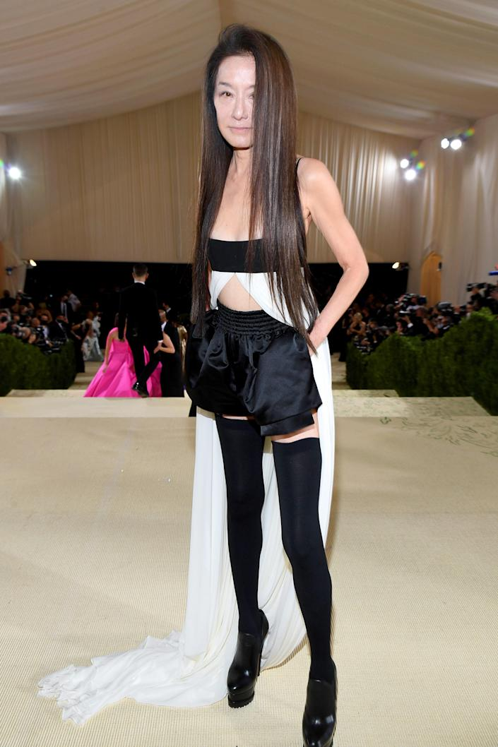 """<h1 class=""""title"""">Vera Wang in Vera Wang</h1><cite class=""""credit"""">Photo: Getty Images</cite>"""