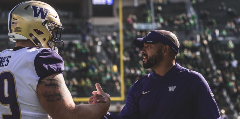 Get to know Huskies new head coach Jimmy Lake