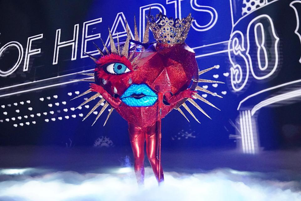 """Queen Of Hearts, """"The Masked Singer"""" - Credit: Fox"""