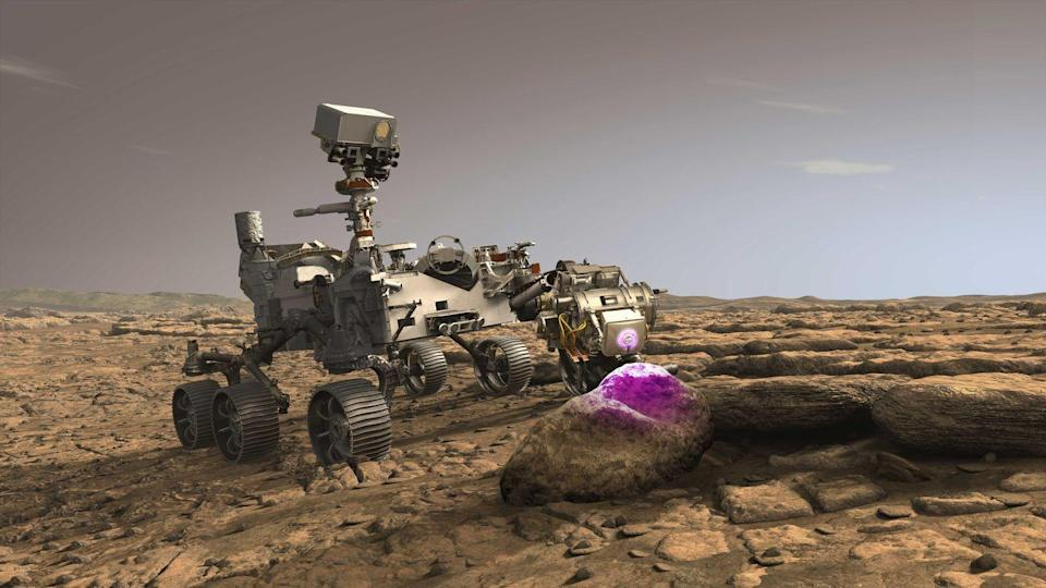 """<p>For kids interested in a place far, far, away, exploring Mars is now within reach. Google teamed up with NASA Jet Propulsion Laboratory, to create a <a href=""""https://accessmars.withgoogle.com/#"""" rel=""""nofollow noopener"""" target=""""_blank"""" data-ylk=""""slk:Mars experience through WebVR"""" class=""""link rapid-noclick-resp"""">Mars experience through WebVR</a> -- a 3D version of the Martian ground. This isn't based on imagination, it's exactly as it was recorded by their Curiosity rover. </p><p>Curiosity moved across Mars, taking digital photographs with two stereoscopic camera systems. Scientists at NASA were able to create an interactive model to help plan their future endeavors, and are now making it public to explore on your own. </p>"""