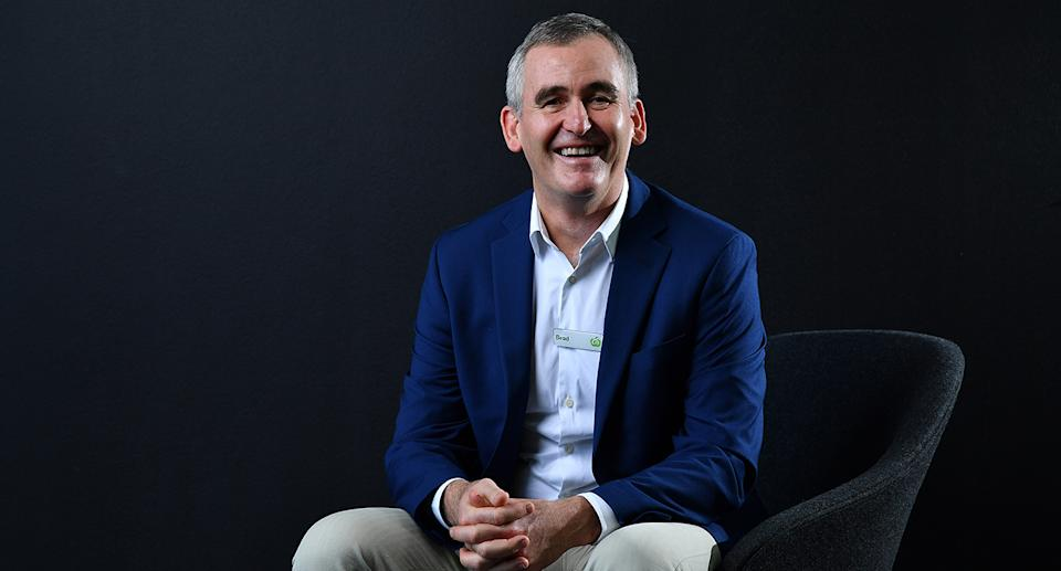 Managing Director and CEO of Woolworths Food Group Brad Banducci. Source: AAP