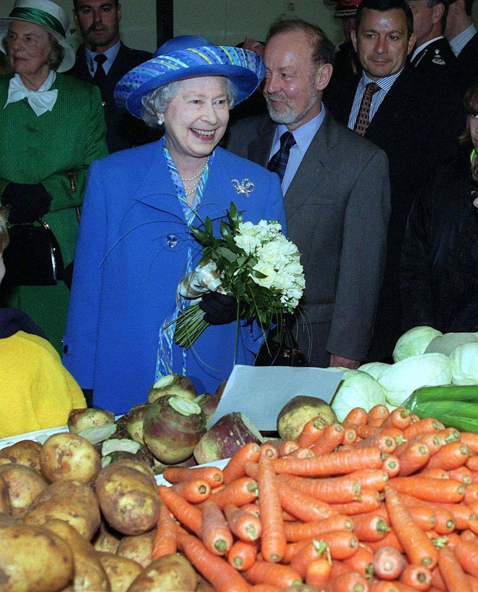 <p>Have you ever seen someone look so pleased at a pile of carrots?</p>
