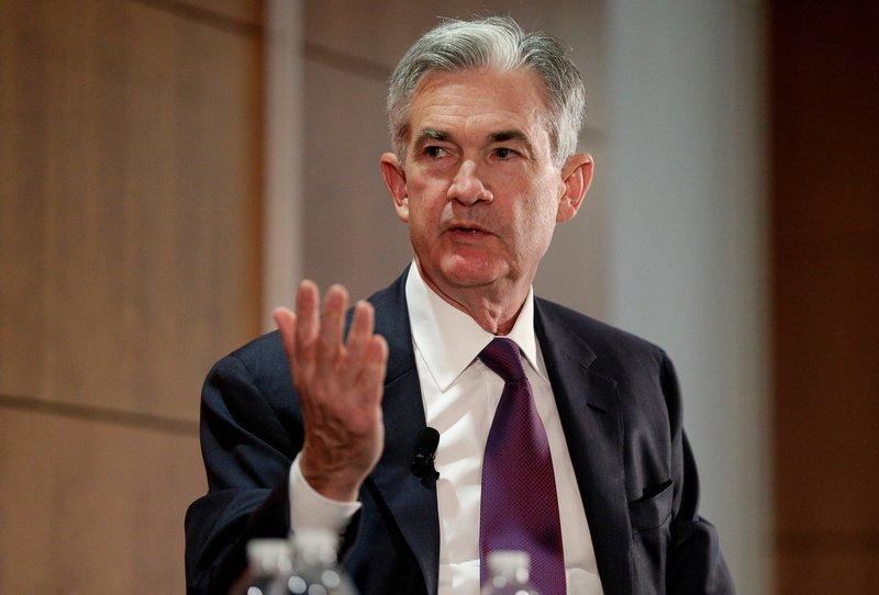 Federal Reserve Board Governor Jerome Powell discusses financial regulation in Washington, U.S., October 3, 2017. REUTERS/Joshua Roberts