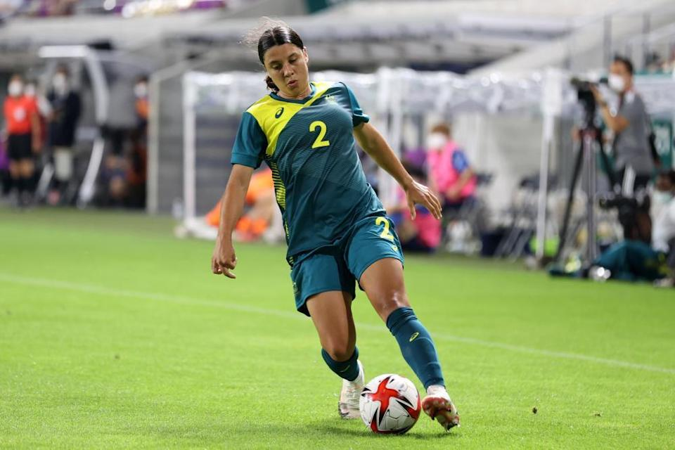 Sam Kerr and her Matildas team have struggled in recent months but they have the potential to do damage at the Games.