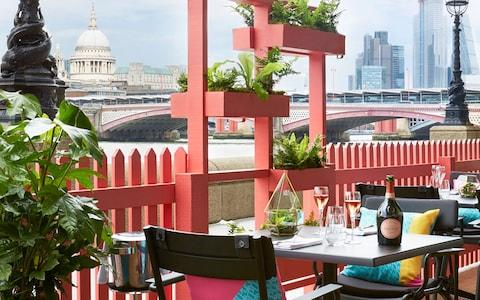 Laurent-Perrier Summer Terrace at Sea Containers Hotel