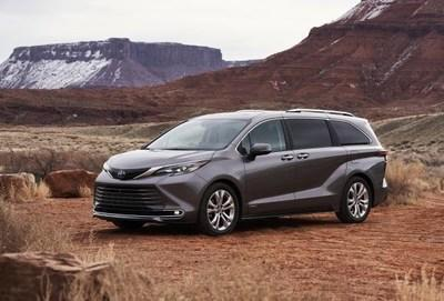 The All-New 2021 Toyota Sienna