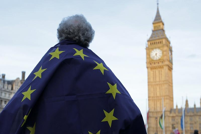 Britain voted in 2016 to end its four-decades-old membership of the 28-country European Union (AFP Photo/Daniel LEAL-OLIVAS)