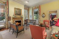 <p>No historic home is complete without wood-burning fireplaces</p>