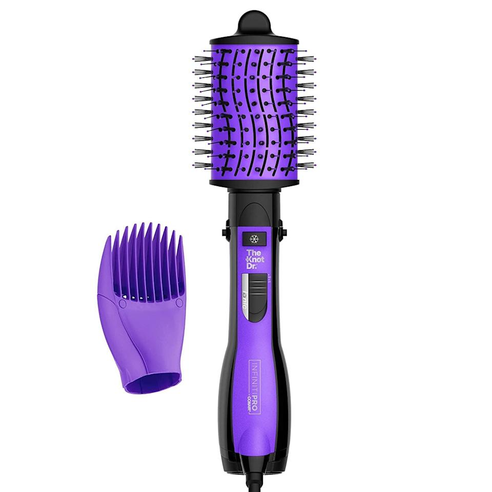 <p>Get a salon blow out at home with the helpful <span>InfinityPro by Conair The Knot Dr. All-in-One Dryer Brush, Wet/Dry Styler</span> ($35, originally $50).</p>