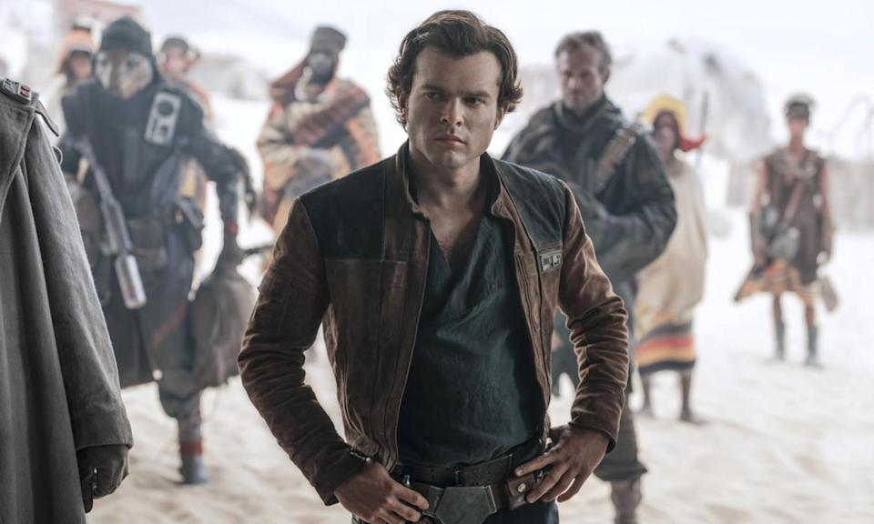 'Solo: A Star Wars Story' jumped the shark on the left hand