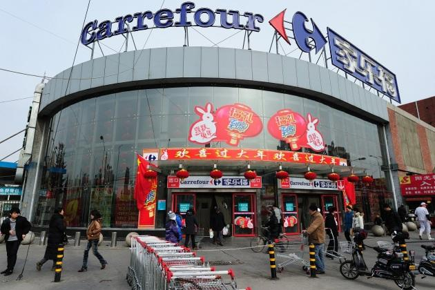 Carrefour quitte la Chine