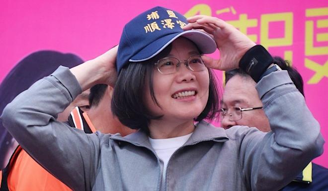 DPP incumbent Tsai Ing-wen now faces the populist Han Kuo-yu and the veteran Chang San-cheng on the KMT ticket. Photo: Facebook