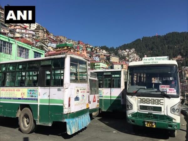 HRTC buses have not been on the roads for over six months. (Photo/ANI)