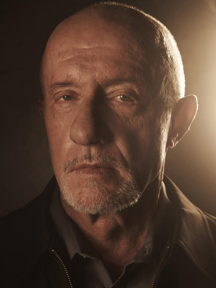 "Jonathan Banks stars as Mike Ehrmantraut in ""Breaking Bad."""