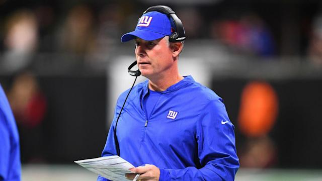 Pat Shurmur is tired of questions surrounding the New York Giants' quarterback situation.