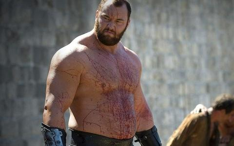 The Mountain, before his armoured days