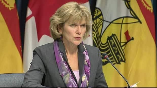 Auditor General Kim Adair-MacPherson asked New Brunswick MLAs Tuesday to help her push Vestcor to release financial records so she can review its pay and performance processes. (CBC - image credit)