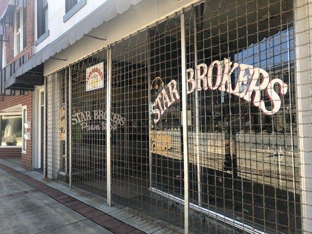 This local pawn shop was among the businesses that remained closed on a recent Thursday in downtown Albany.