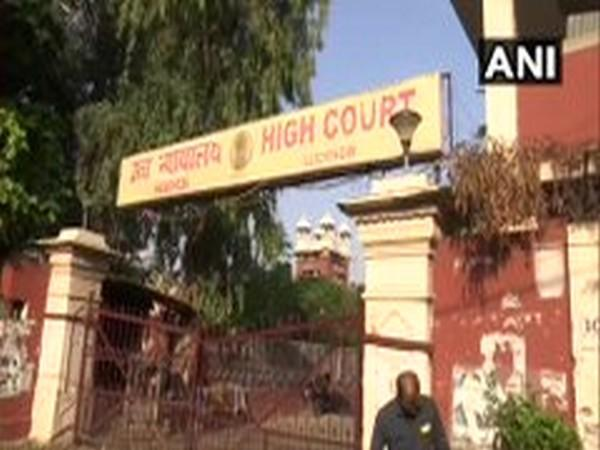 Visual from Lucknow, High Court. Photo/ANI