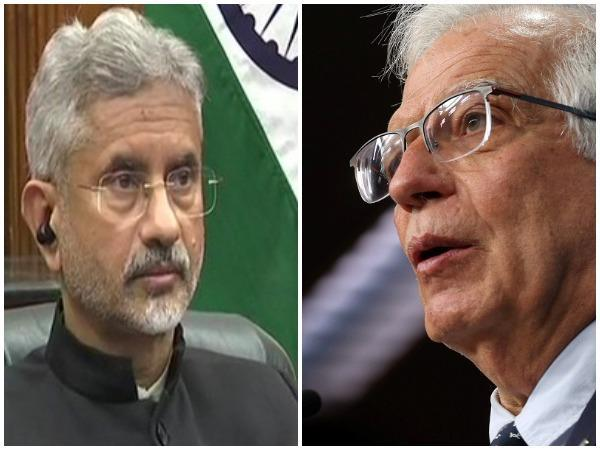 External Affairs Minister S Jaishankar and European Union's top diplomat Josep Borell (File Photo)