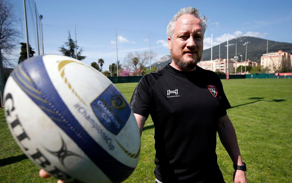 Paul Stridegon at Toulon - Credit: SEBASTIEN NOGIER for THE TELEGRAPH