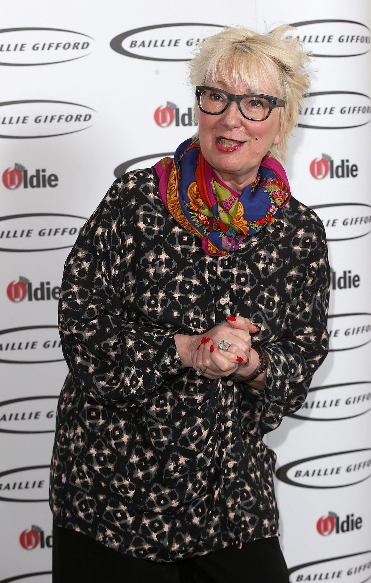 LONDON, ENGLAND - FEBRUARY 03:  Jenny Eclair attends the Oldie Of The Year Awards at Simpsons in the Strand on February 3, 2015 in London, England.  (Photo by Danny Martindale/WireImage)