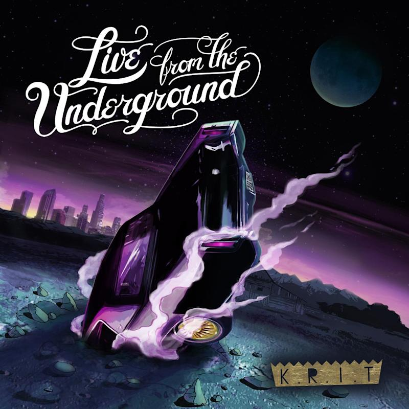 """This CD cover image released by Cinematic Music Group/Def Jam shows the latest release by K.R.I.T., """"Live from the Underground."""" (AP Photo/Cinematic Music Group/Def Jam)"""