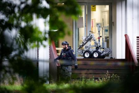 Norway mosque shooter may have killed family member first: police