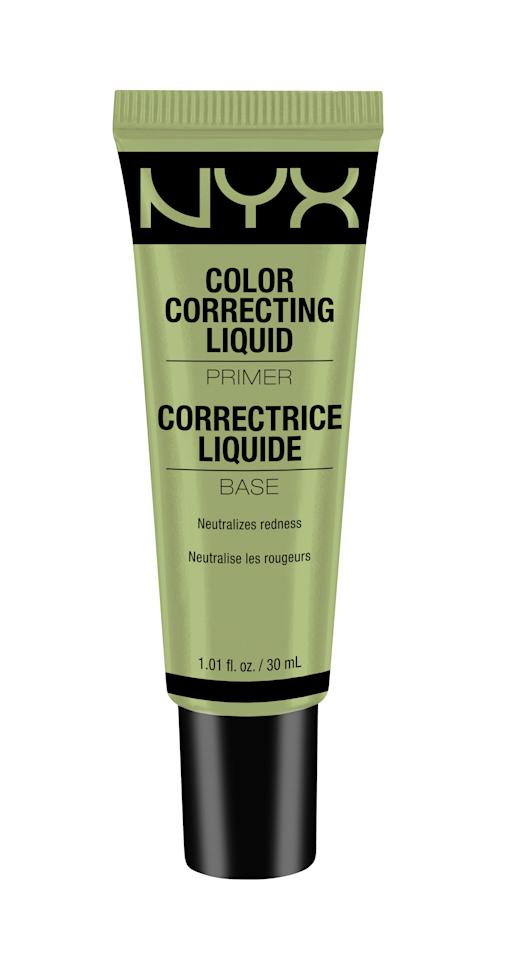 <p>Got redness? Not anymore, since the green tint of this primer neutralizes it.</p>