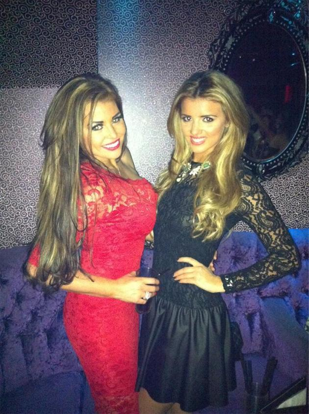 Celebrity Twitpics: TOWIE girls Lucy Mecklenburgh and Jessica Wright enjoyed a fun night out between Christmas and New Year. Copyright [Lucy Mecklenburgh]