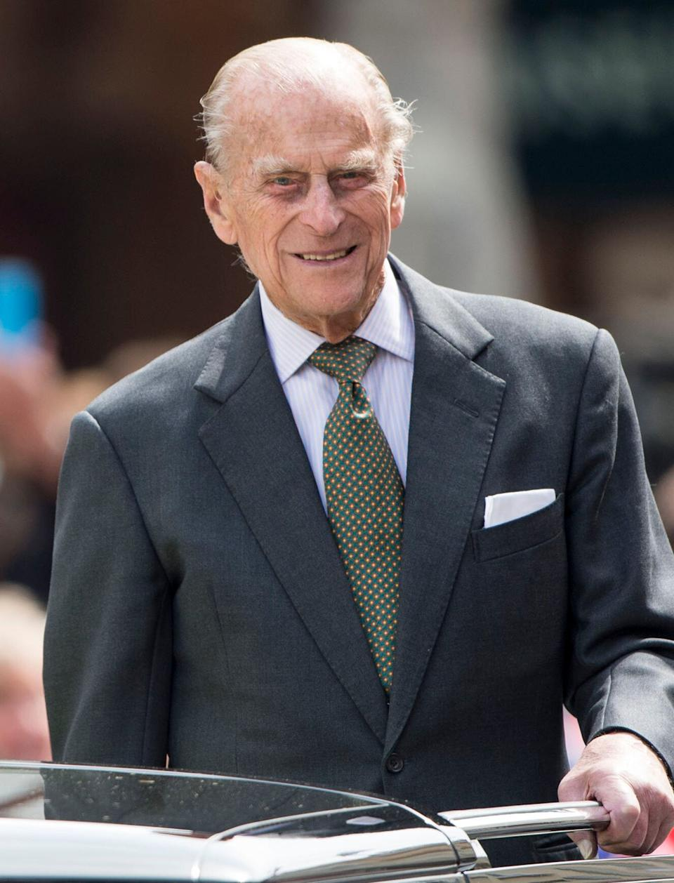Prince Philip pictured during the Queen's 90th birthday celebrations (Photo: Mark Cuthbert via Getty Images)