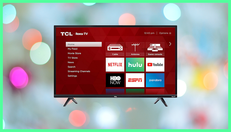 Save $102 on this TCL 40-inch HD Smart LED Roku TV. (Photo: Amazon)